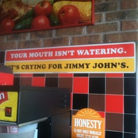Photo taken at Jimmy John's by Samantha Z. on 2/17/2012