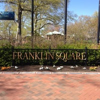 Photo taken at Franklin Square by Dina L. on 4/7/2012