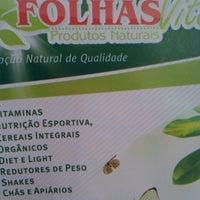 Photo taken at Mil Folhas Vita Produtos Naturais by Mila L. on 9/11/2012