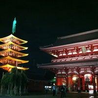 Photo taken at Hozomon Gate by Goro Y. on 7/16/2012