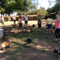 Photo taken at Balboa Park Dog Park by Virginia H. on 7/29/2012
