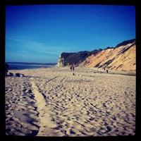 Photo taken at Praia das Bicas by Sara G. on 8/18/2012
