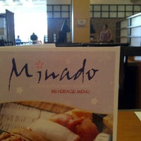 Photo taken at Minado Restaurant by Si Cynthia Photos on 8/23/2012