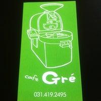 Photo taken at cafe Gré by SunWoo K. on 4/17/2012
