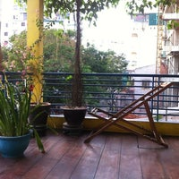Photo taken at Hue Backpackers by Guillaume B. on 7/21/2012