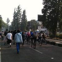 Photo prise au Dago Car Free Day par Irwan D. le9/9/2012