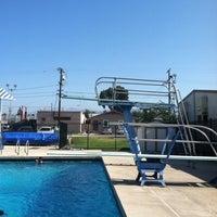 Photo taken at City Park Pool by April W. on 6/18/2012