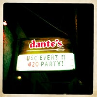 Photo taken at Dante's by Eric C. on 4/21/2012
