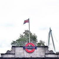 Photo taken at Embankment London Underground Station by Octavio M. on 6/24/2012