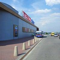 Photo taken at Tesco Gliwice by Krzysztof K. on 8/1/2012