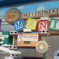 Photo taken at Toy Story Mania! by Peter H. on 5/25/2012
