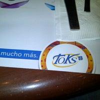 Photo taken at Toks by Hector Fabio C. on 7/30/2012
