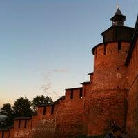 Снимок сделан в Нижегородский кремль пользователем Dasha L. 6/10/2012