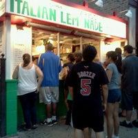 Photo taken at Mario's Italian Lemonade by Anabelle M. on 6/28/2012