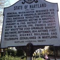 Photo taken at Maryland House Travel Plaza by Bob M. on 4/7/2012