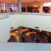 Photo taken at Biblioteca E.T.S.I Agrónomos by Bernabé .. on 6/20/2012