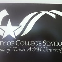 Photo taken at College Station City Hall by Dwight G. on 8/30/2012