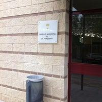 Photo taken at Pavello La Jonquera by Ernest B. on 8/27/2012