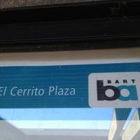 Photo taken at El Cerrito Plaza BART Station by Maya P. on 6/9/2012