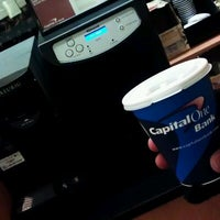 Photo taken at Capital One Bank by Tes C. on 2/3/2012
