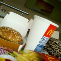 Photo taken at McDonald's by Flaviany C. on 2/8/2012