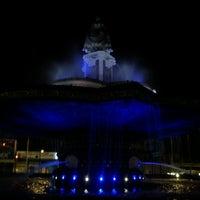 Photo taken at Fuente de la China Poblana by Oscar Fabian H. on 9/2/2012