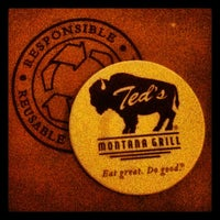 Photo taken at Ted's Montana Grill by Evan R. on 3/27/2012