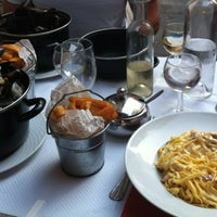 Photo taken at Restaurant du Gesù by Irina M. on 6/24/2012