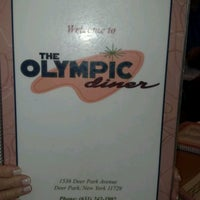 Photo taken at Olympic Diner by Ronald B. on 7/20/2012