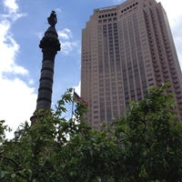 Photo taken at Public Square by Allen H. on 5/9/2012