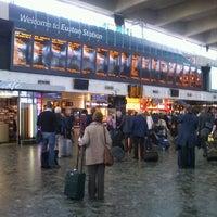 Photo taken at London Euston Railway Station (EUS) by Peter C. on 6/15/2012