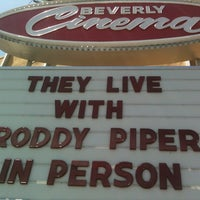 Photo taken at New Beverly Cinema by John D. on 6/10/2012
