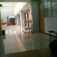 Photo taken at Biblioteca De Posgrado Enzo Levi by Carolina T. on 8/27/2012