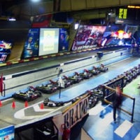 Photo taken at Indoor Karting Barcelona by Joanna on 9/2/2012