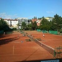 Photo taken at Zetor Brno - Židenický Lawn Tennis Club by Gabriela Dedkova on 6/2/2012
