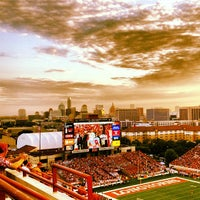 Photo taken at Darrell K Royal-Texas Memorial Stadium by Holly C. on 9/10/2012