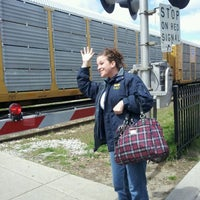 Photo taken at Royal Oak Amtrak Station (ROY) by Amber C. on 4/11/2012