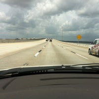 Photo taken at Henry Holland Buckman Bridge by Kevin-Gara B. on 8/8/2012