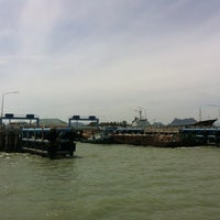 Photo taken at Don Sak Pier by Than-ny Dee H. on 5/14/2012
