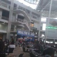 Photo taken at Plaza @ Limkokwing University of Creative Technology by Weyinmi O. on 5/2/2012