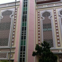 Photo taken at Al-Iman Mosque by Carlis B. on 4/6/2012