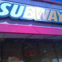 Photo taken at Subway by Anna A. on 9/12/2012