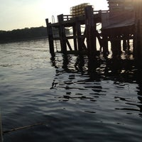 Photo taken at Great Diamond Island Dock by Mary D. on 6/20/2012