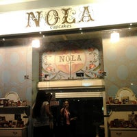 Photo taken at NOLA Cupcakes by Azza Z. on 3/9/2012