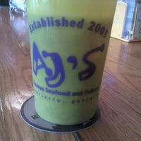 Photo taken at AJ's Famous Seafood and PoBoys by Chad M. on 4/21/2012
