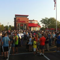 Photo taken at Chick-fil-A by Christy S. on 8/1/2012