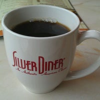 Photo taken at Silver Diner by Steve on 2/5/2012