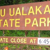 Photo taken at Puʻu Ualakaʻa State Park by Jennifer D. on 4/1/2012