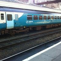 Photo taken at Shrewsbury Railway Station (SHR) by Ben F. on 8/18/2012