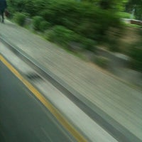 Photo taken at M BUS BUS STOP by Yoon L. on 5/13/2012